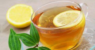 فوائد الشاي الاخضر مع الليمون , اهمية شرب الشاى الاخضر مع الليمون