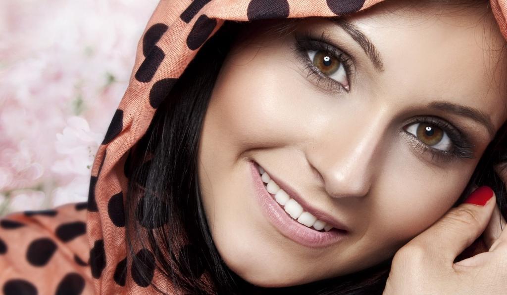 صورة صور محجبات سمراوات , البنت السمراء تملك نصف جمال العالم