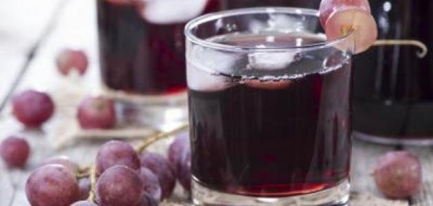 صورة طريقة عمل عصير العنب , خطوات بسيطه لعمل العصائر