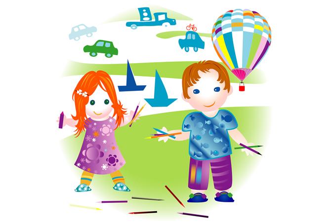 صورة صور ملونة للاطفال , صور ملونة تلفت انتباه الاطفال