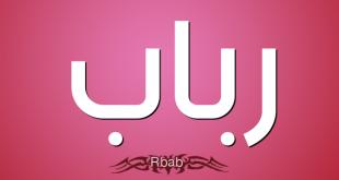 معنى كلمة رباب , ما معنى كلمة واسم رباب