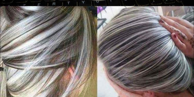 صور طريقة صبغ الشعر سلفر , اسهل الطرق لصبغ الشعر سيلفر فى البيت