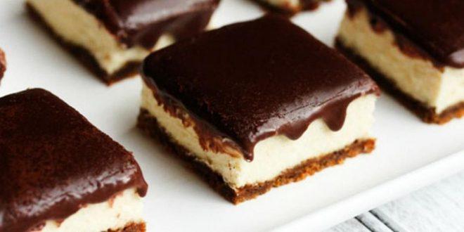 صورة حلى البسكويت المطحون , حلوى صيفية من البسكويت المطحون