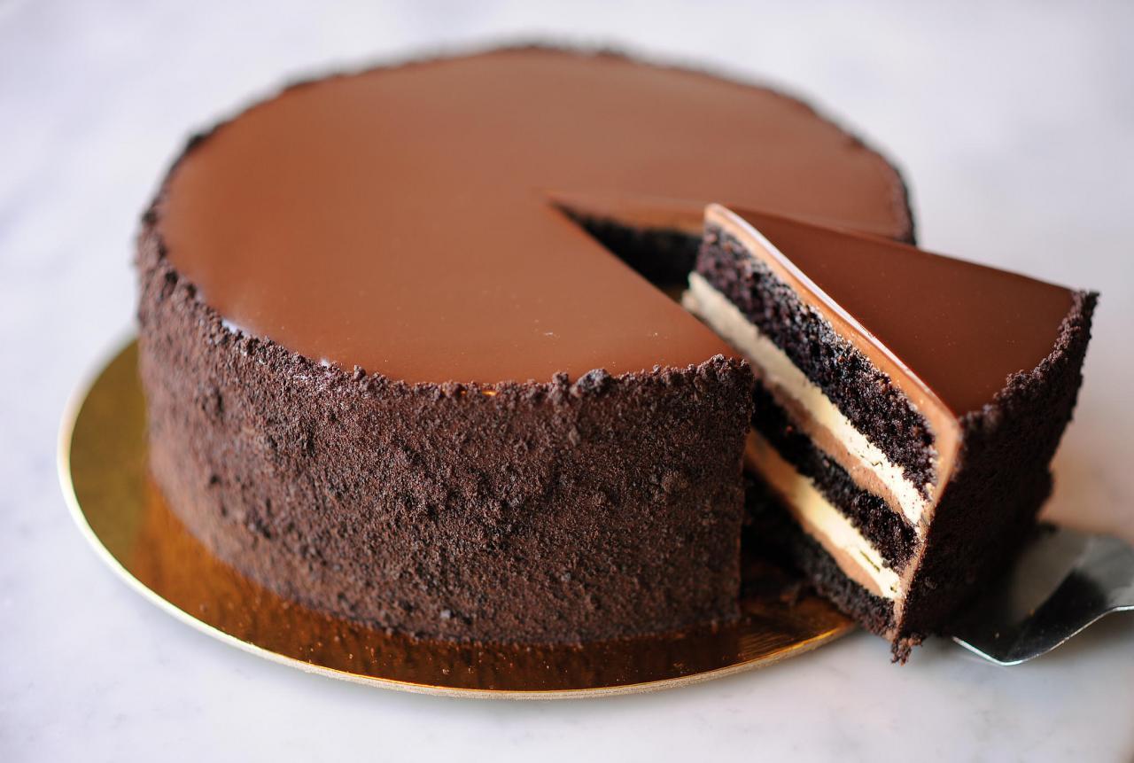 صورة كيكة الشوكولاتة السهلة , احلى واشهى كيك شوكولا