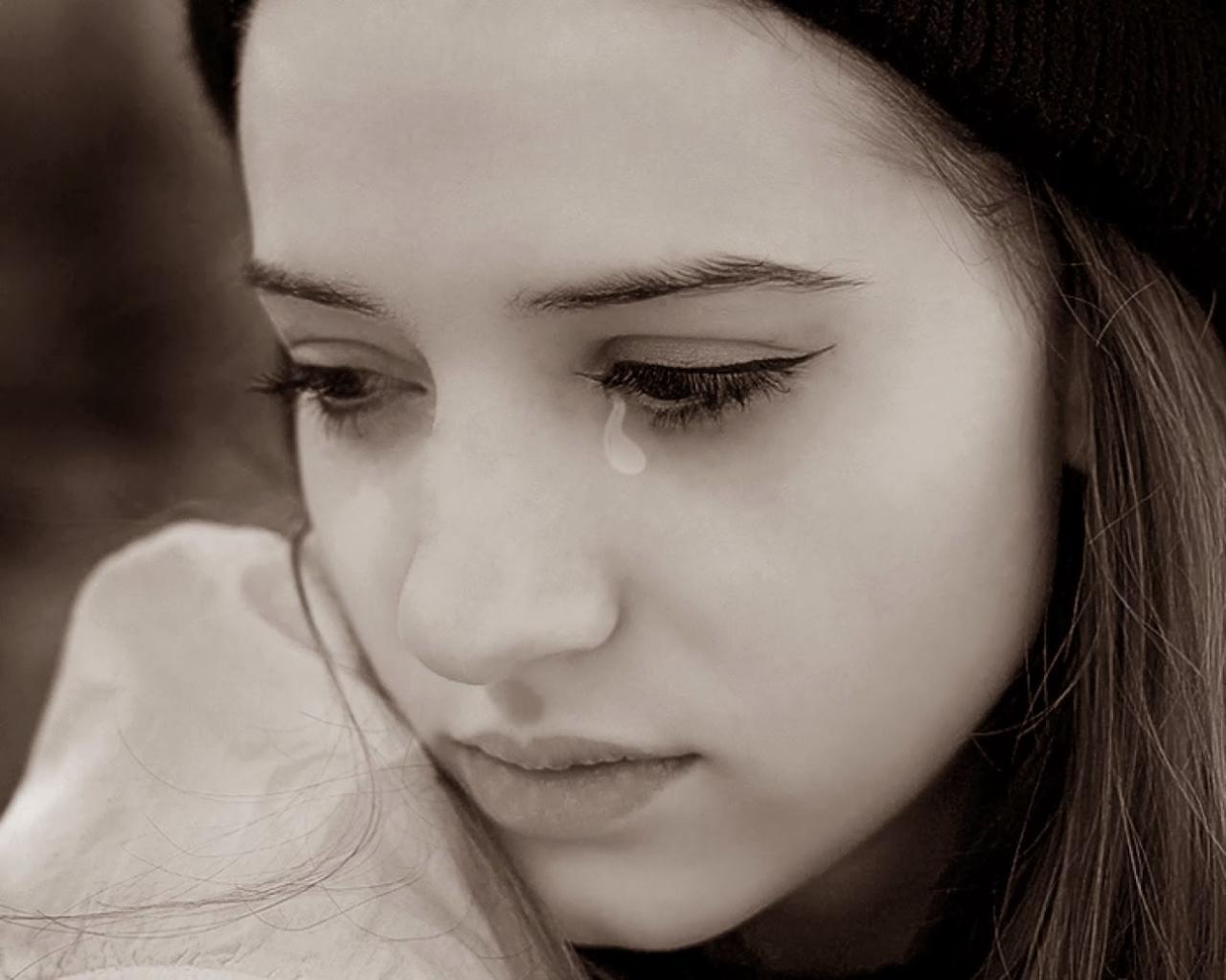 صور صور بنات حزينه جميله , صور لتعبيرات حزينة علي الوجه البنات