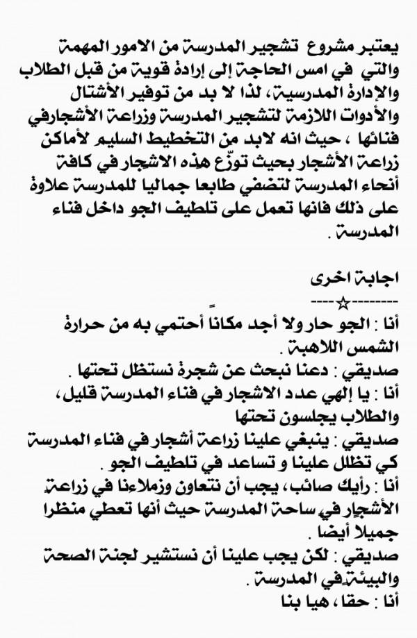 Details Of حوار بين شخصين عن التعاون قصير جدا