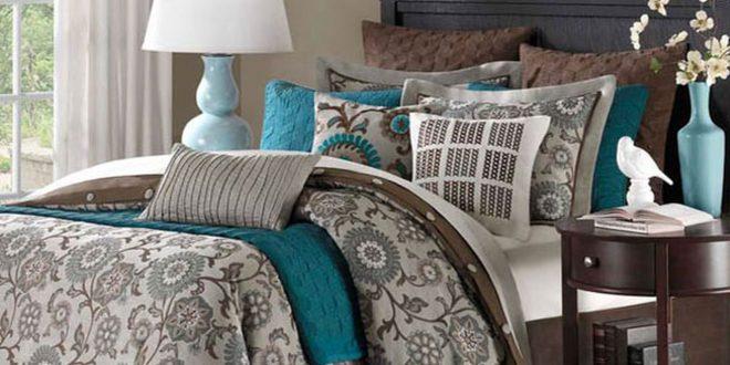 صورة مفروشات غرف نوم , اختيارك للمفروشات يفرق فى اظهار جمال غرفتك