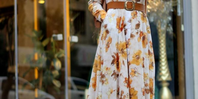 صورة لبس تركي للمحجبات , لاطلالة جذابة ومميزة مع الحجاب