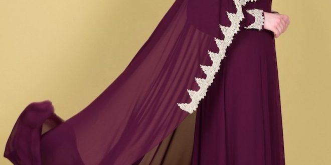 صورة فساتين سهرات للبنات , جمال الفساتين للمحجبات