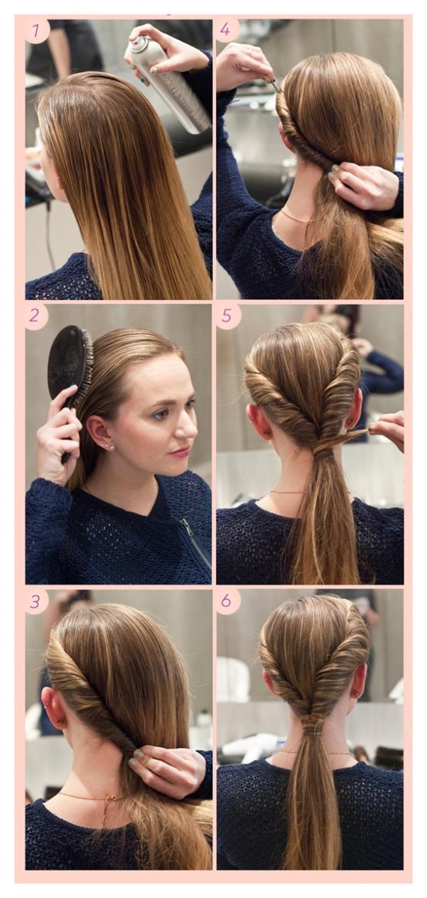صورة تسريحات شعر للسهرات سهلة , لو كان شعرك قصير او طويل هنا تسريحات تناسبك