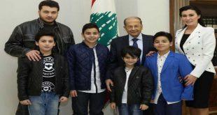 صورة اولاد نادين الراسي , الحياه الشخصيه لنادين الراسى واولادها بالصور