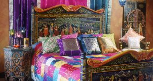 صورة غرف نوم هنديه , صور ديكورات هندية جديده