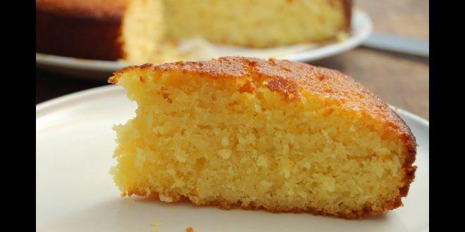 صورة طريقة عمل الكيكة الاسفنجية بالبرتقال , كيك بسيطه وسهله