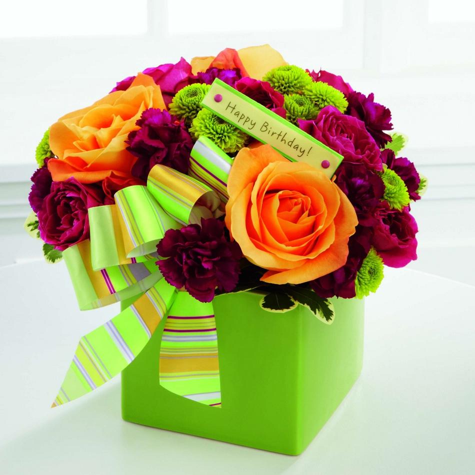 صور ورود عيد ميلاد , الوان الورد المبهجه لعيد ميلاد حبيبتك