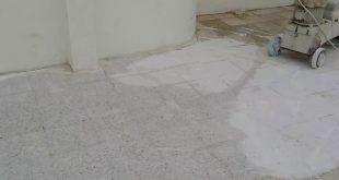 صورة تنظيف السيراميك من الاسمنت الابيض , طريقة ازالة الاسمنت الابيض من السيراميك