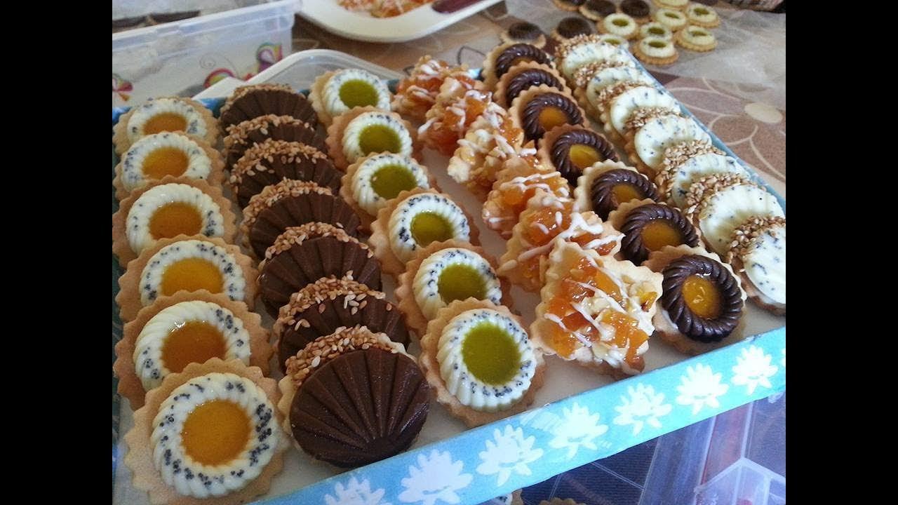 صورة حلويات جافة لسميرة , تعلمي طرق حلويات جافة جديدة من الشيف سميرة