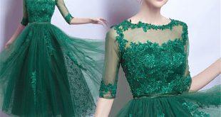 صورة حلمت اني لابسه فستان اخضر , تفسير رؤية ارتداء ملابس خضراء