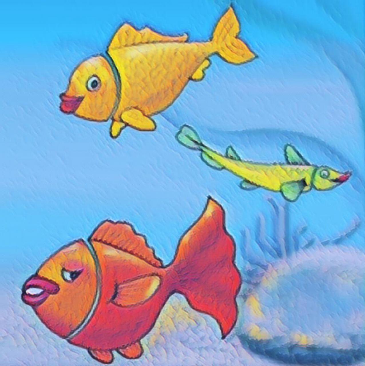 صورة قصة السمكات الثلاث , السمك الثلاث وحكايتهم الممتعة والمليئة بالحكم للاطفال
