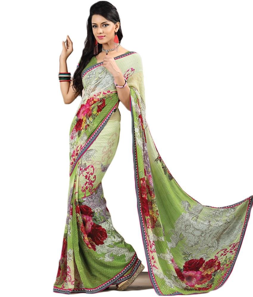 صورة طريقة لبس الساري الهندي , كيف ترتدى الساري الهندي