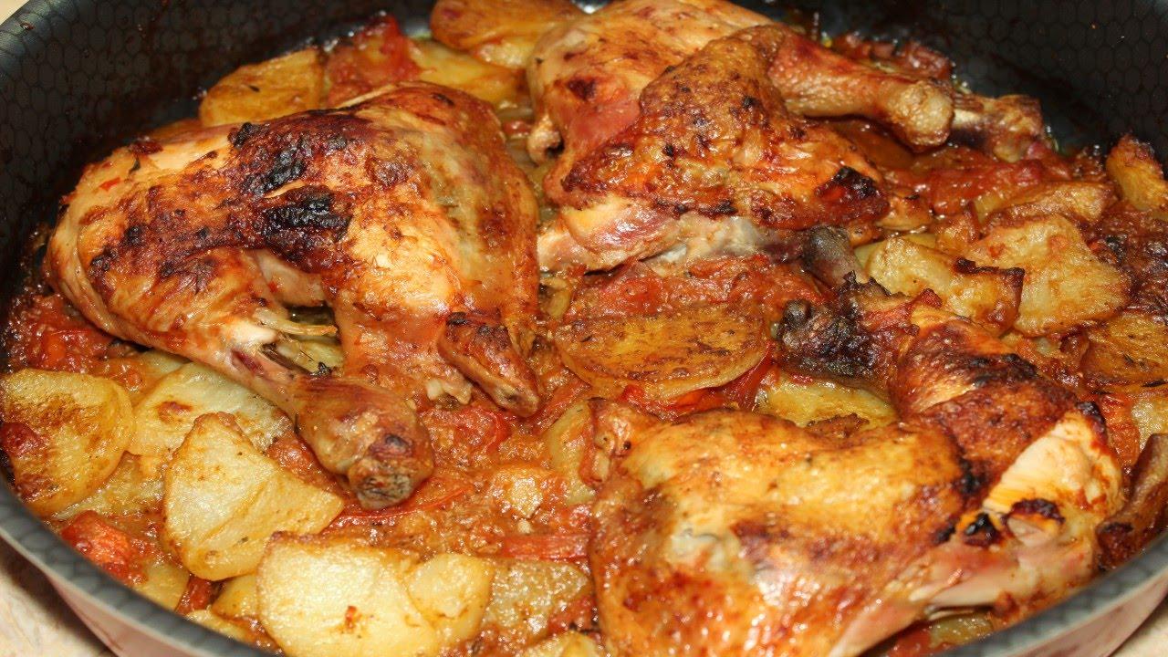 صورة طريقة عمل البطاطس بالفراخ , كيف تصنعي صينية بطاطس بالفراخ بنكهة شهية