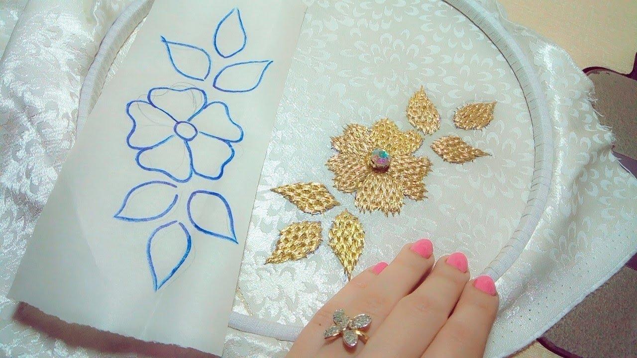 صورة رشمات الطرز بالماكينة العادية , اشياء يجب القيام بها لغرزة صحيحة