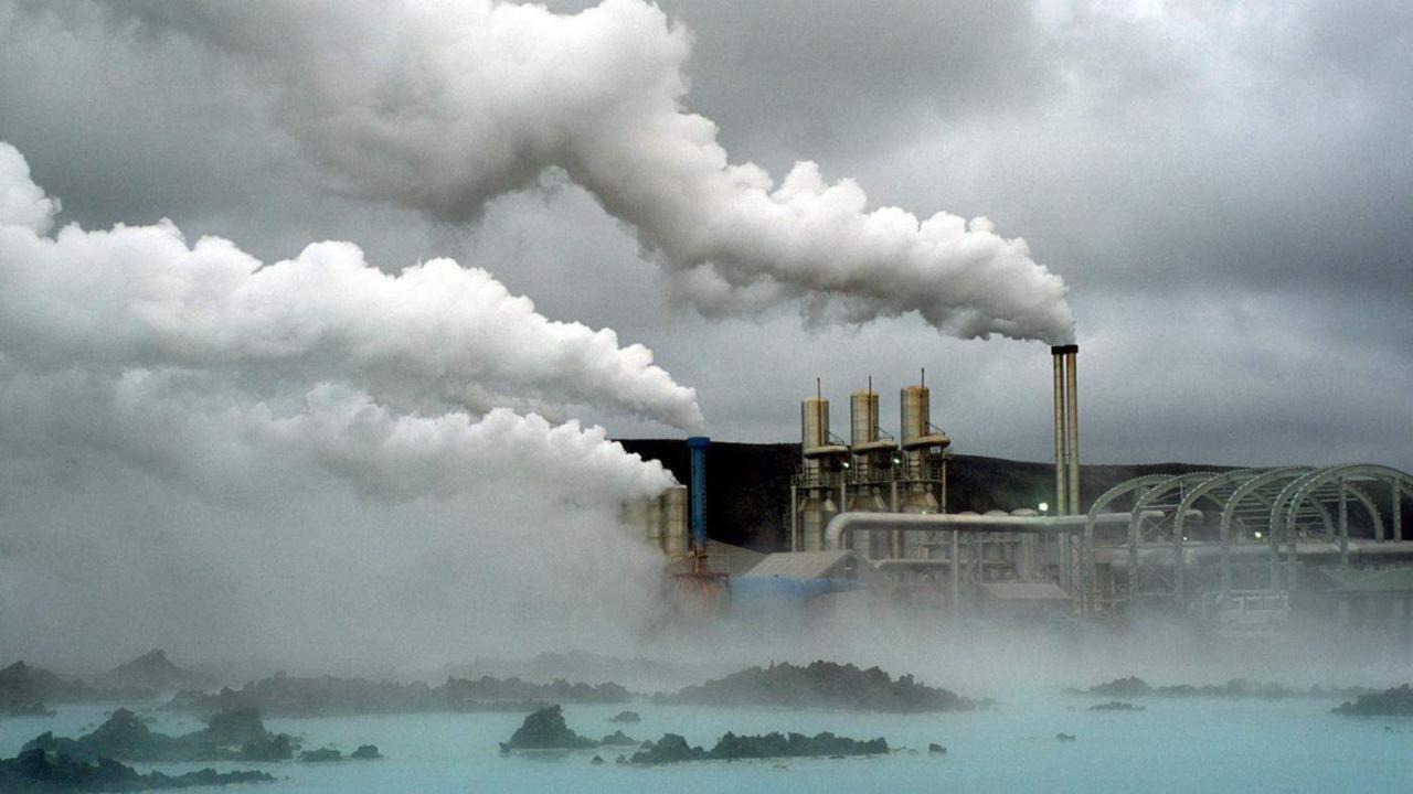 بحث بالصور عن تلوث البيئة