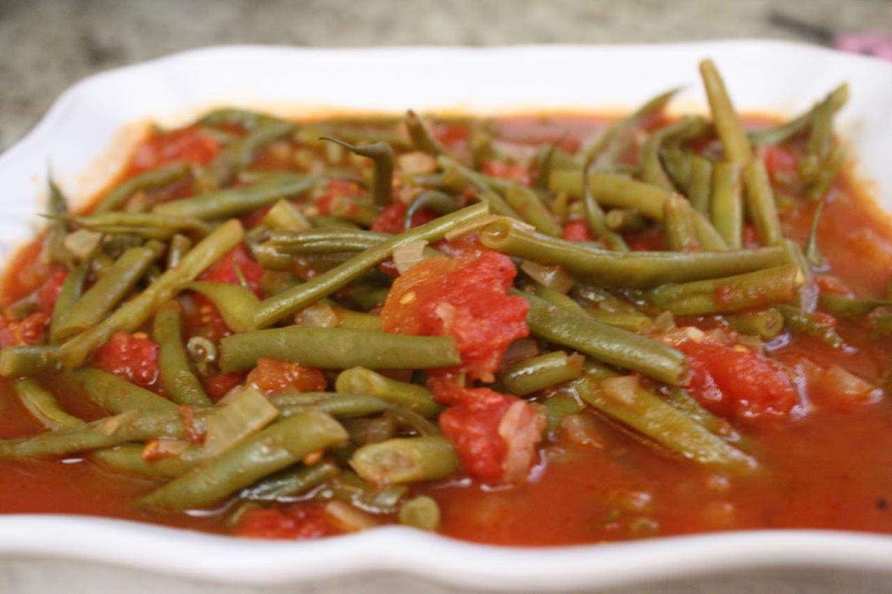 صورة طريقة عمل الفاصوليا الخضراء , تعرفى على الطريقة الصحيحة لطهو الفاصوليا بكل سهولة